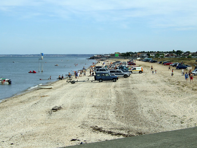 The beach at Leysdown-on-Sea
