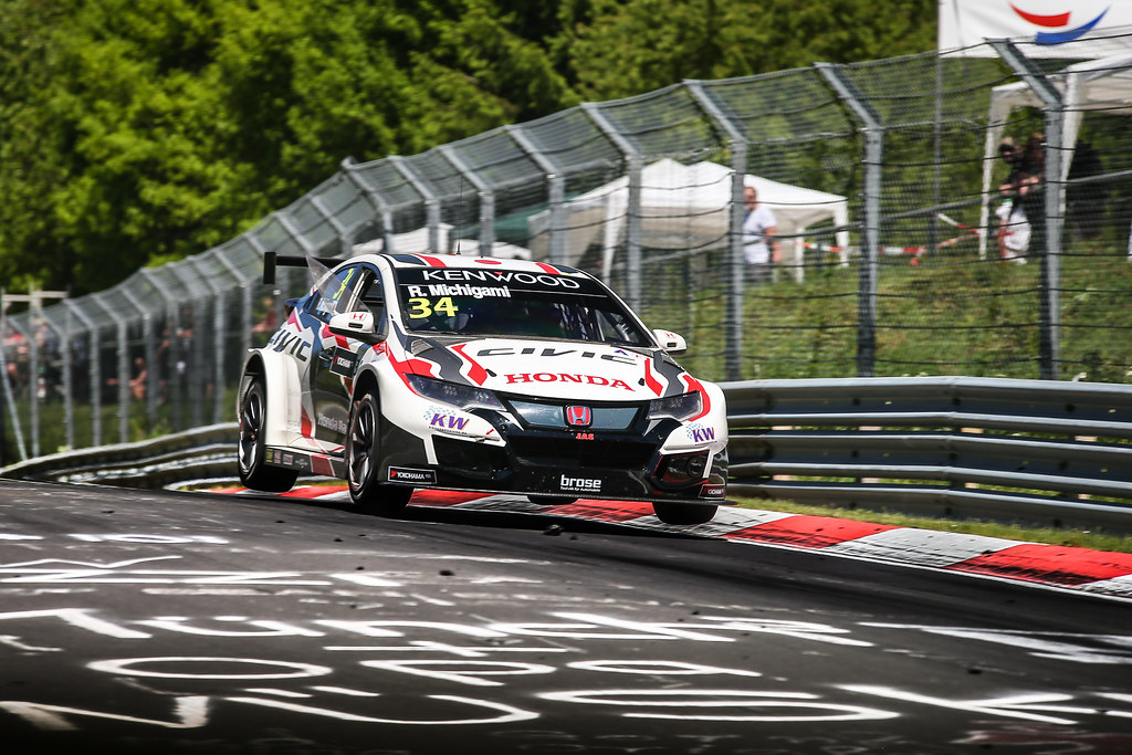34 MICHIGAMI Ryo (jpn), Honda Civic Honda racing team Jas, action during the 2017 ETCC European Touring Car Championship race at Nurburgring, Germany from May 26 to 28 - Photo Antonin Vincent / DPPI