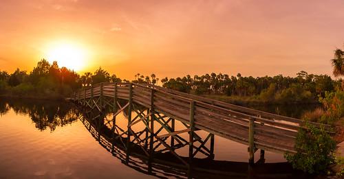 hernandobeach sunset