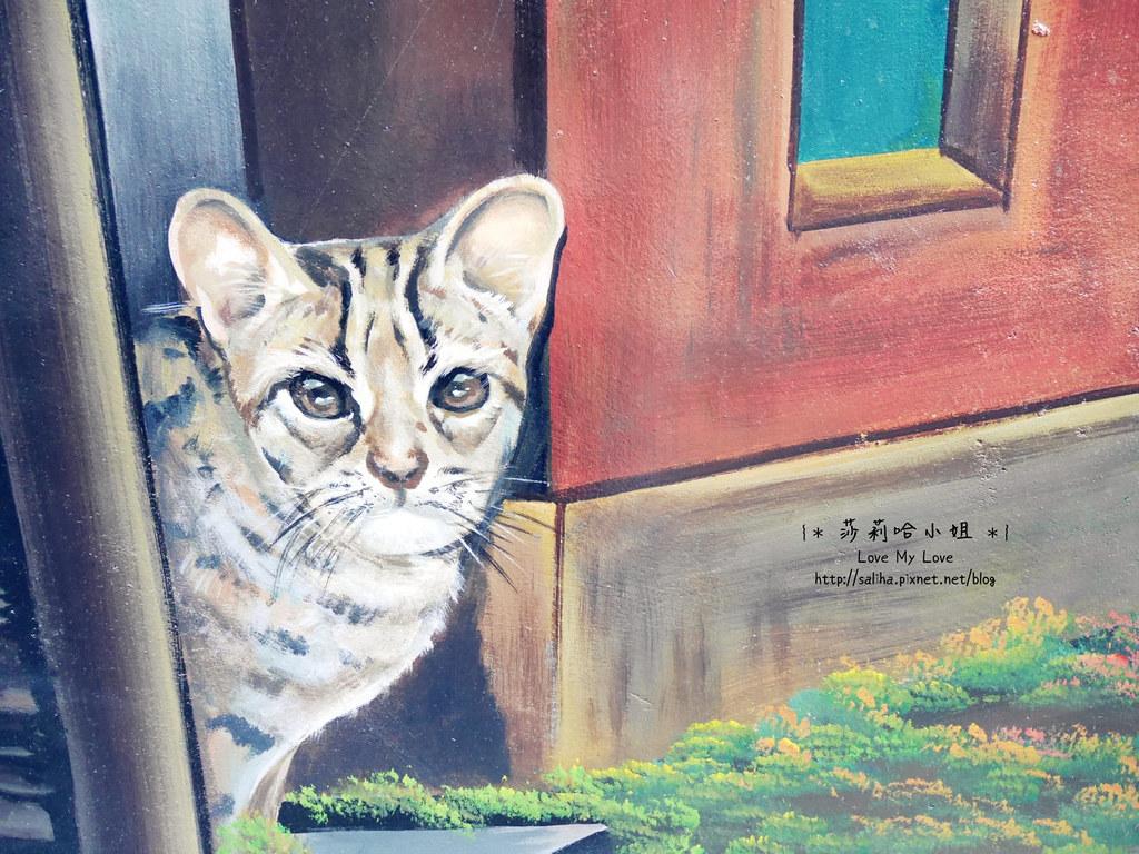 台中沙鹿一日遊景點推薦美仁里彩繪村 (15)