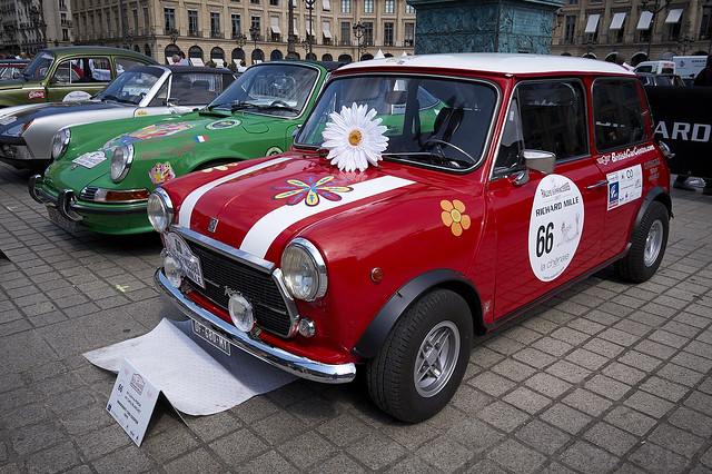 Scrutineering Day ~ Rallye des Princesses ~ 2017, Paris, France