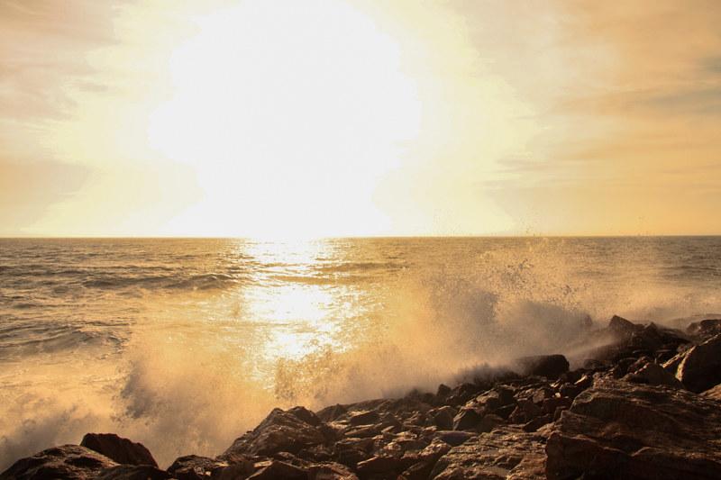 Meer Sommer Sonne Sonnenschein Namibia Urlaub