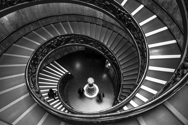 All time classic -Vatican stairs