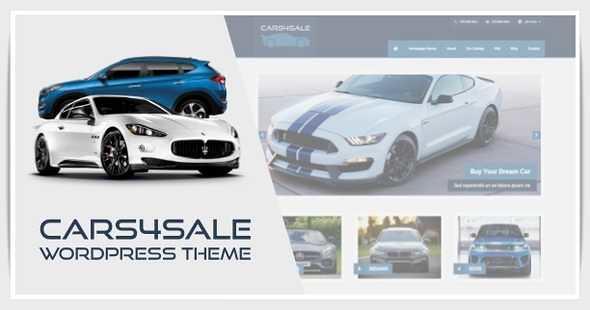 Cars4Sale WordPress Theme free download
