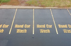 Reserved for Hand Car Wash