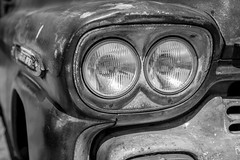 Chevy headlights in mono