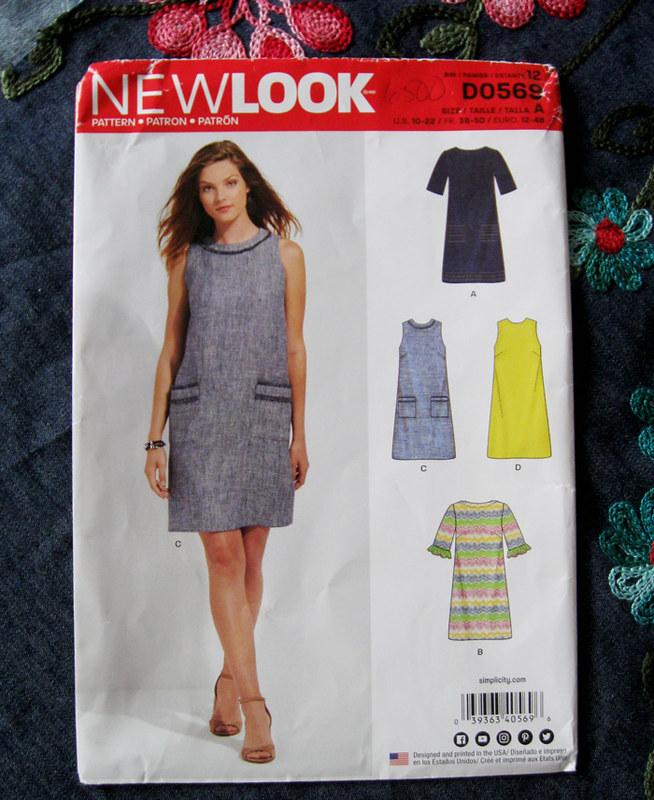 New Look Shift dress pattern