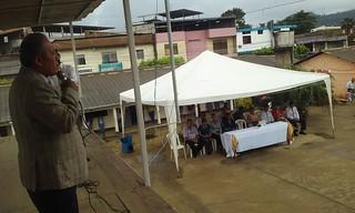 Este lunes se cumplió con la Hora Cívica en Unidad Educativa Manabí