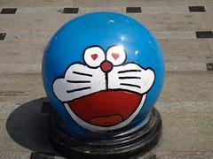 Doraemon bollard