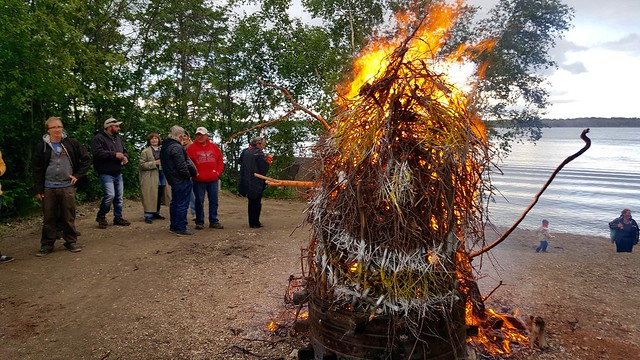 Memorial Bonfire