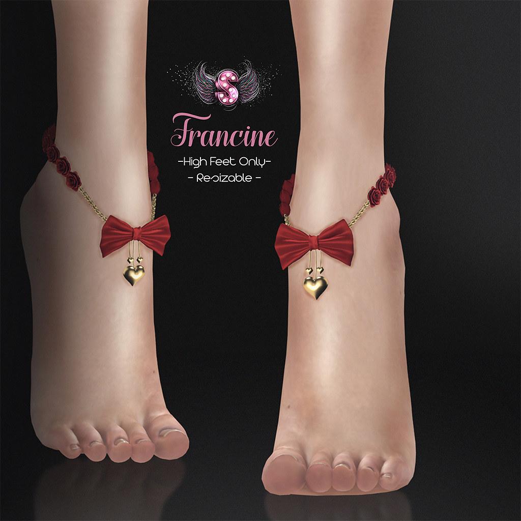 .::Supernatural::. - Francine Anklet @ Shiny Shabby - SecondLifeHub.com
