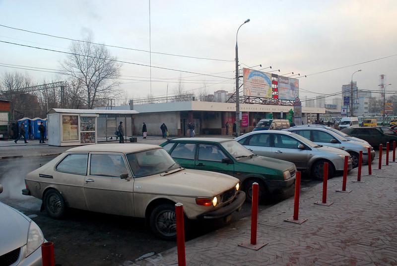 Moscow - Tushinskaya metro station