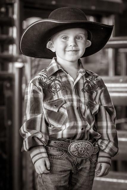 Little Cowboy, Big Hat