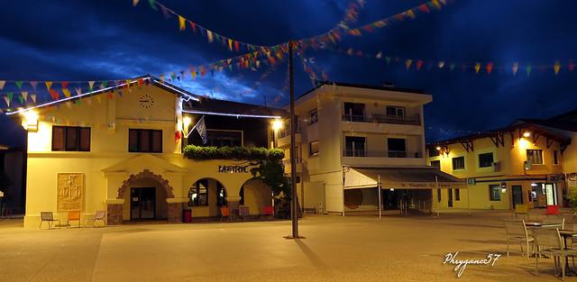 Vieux Boucau place de la Mairie