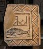 Poreč / Parenzo Euphrasius-Basilika  Lapidarium Das berühmte Fischmosaik 3. Jhd.