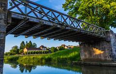 pont sur la canne - Photo of Diennes-Aubigny