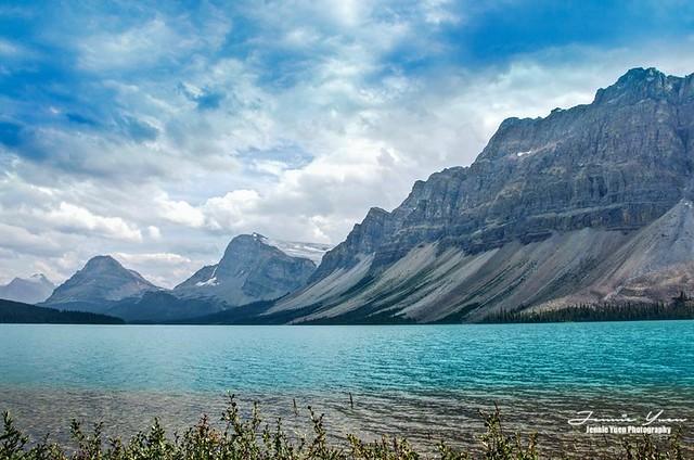 Bow Glacier Lake