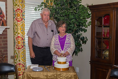 50th Wedding Anniversary Celebration:  Larry and Janette Woodcock