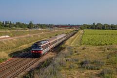 12 juin 2017 BB 67424 Train 3888 Bordeaux -> La Rochelle Aubie-St-Antoine (33) - Photo of Marcenais