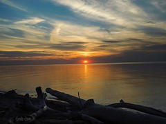 A Lake Erie Sunset at Lake Erie Bluffs