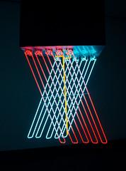 Stephen Antonakos, Hanging Neon, 1965, DMA