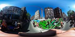360degree - Streetart @ Amsterdam