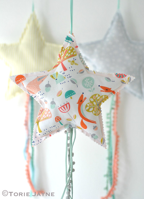 Comet stars, Made for Baby by Ayda Algin