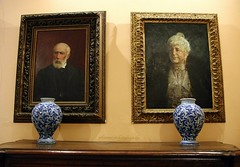 A few items of the Correale di Terranova Museum in Sorrento, Italy