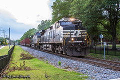 NS 8980 | GE C44-9W | NS Memphis District