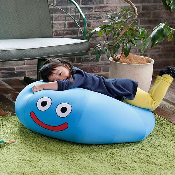 讓勇者瞬間變廢柴!《勇者鬥惡龍》微笑史萊姆 大型抱枕(スマイルスライム ビッグクッション スライム)