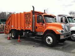 Upper Chichester Township. PA 2007 International Workstar 7400 SBA 4x2 Heil rear load packer - truck No. 5