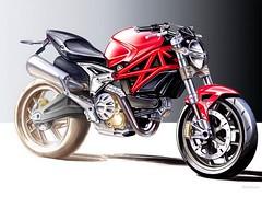 Ducati 696 MONSTER 2008 - 18