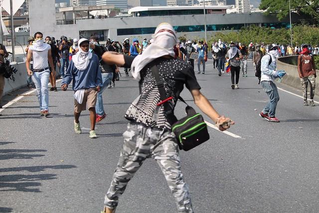 Oposição venezuelana tem chamado protestos violentos no país - Créditos: Reagan Des Vignes/Telesur