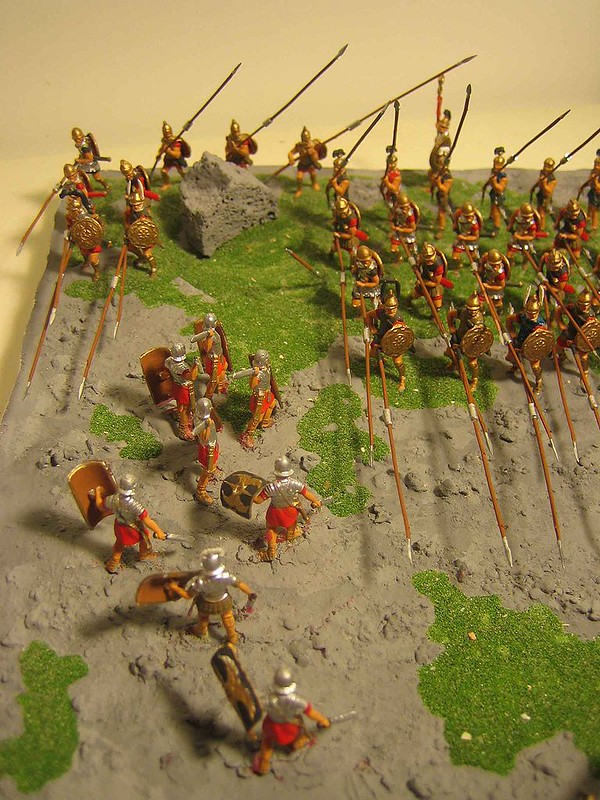 Diorama of Battle of Pydna
