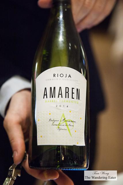 Bodega Amaren Rioja Blanca 2014