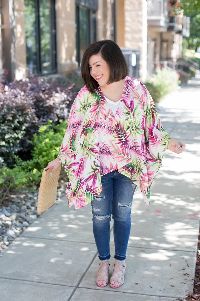 Tropical Kimono-@headtotoechic-Head to Toe Chic