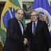 Secretary General Meets with Foreign Minister of Brazil