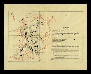 Messines Intelligence Map