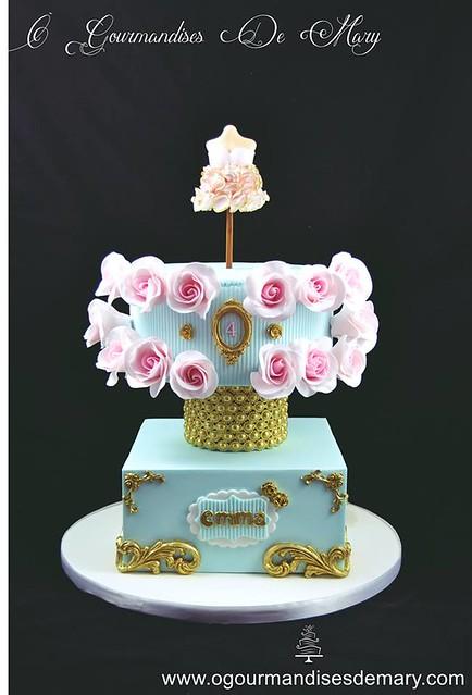 Cake by Ô Gourmandises de Mary - Cake Design Lyon