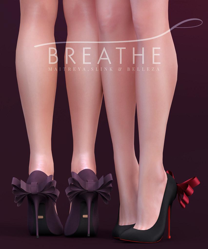 [BREATHE]-Mayumi Heels - SecondLifeHub.com