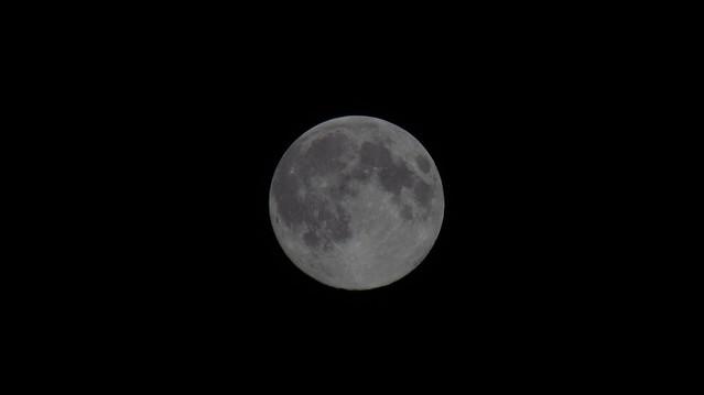Moon Shot 6.09.2017 1, Canon POWERSHOT SX520 HS