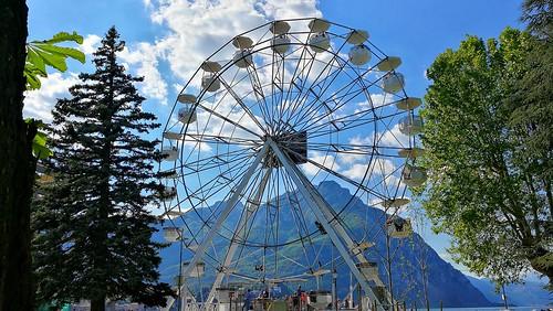 La ruota panoramica di Lecco.