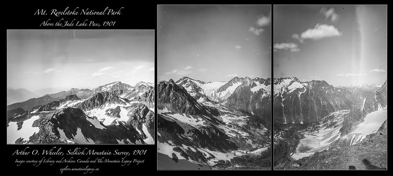 Historic images of the Albert Group in the Selkirk Mountains