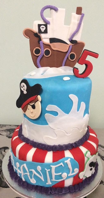 Little Pirate Cake by Fareeha Sheraz of Treat For Kids