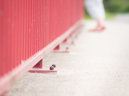 Red fence - HFF!