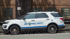 CUNY Public Safety Car, Hostos Community College, Bronx, New York City
