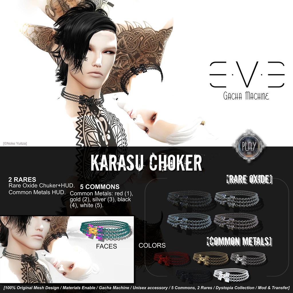 E.V.E Karasu Choker - SecondLifeHub.com