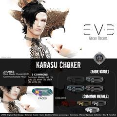 E.V.E Karasu Choker