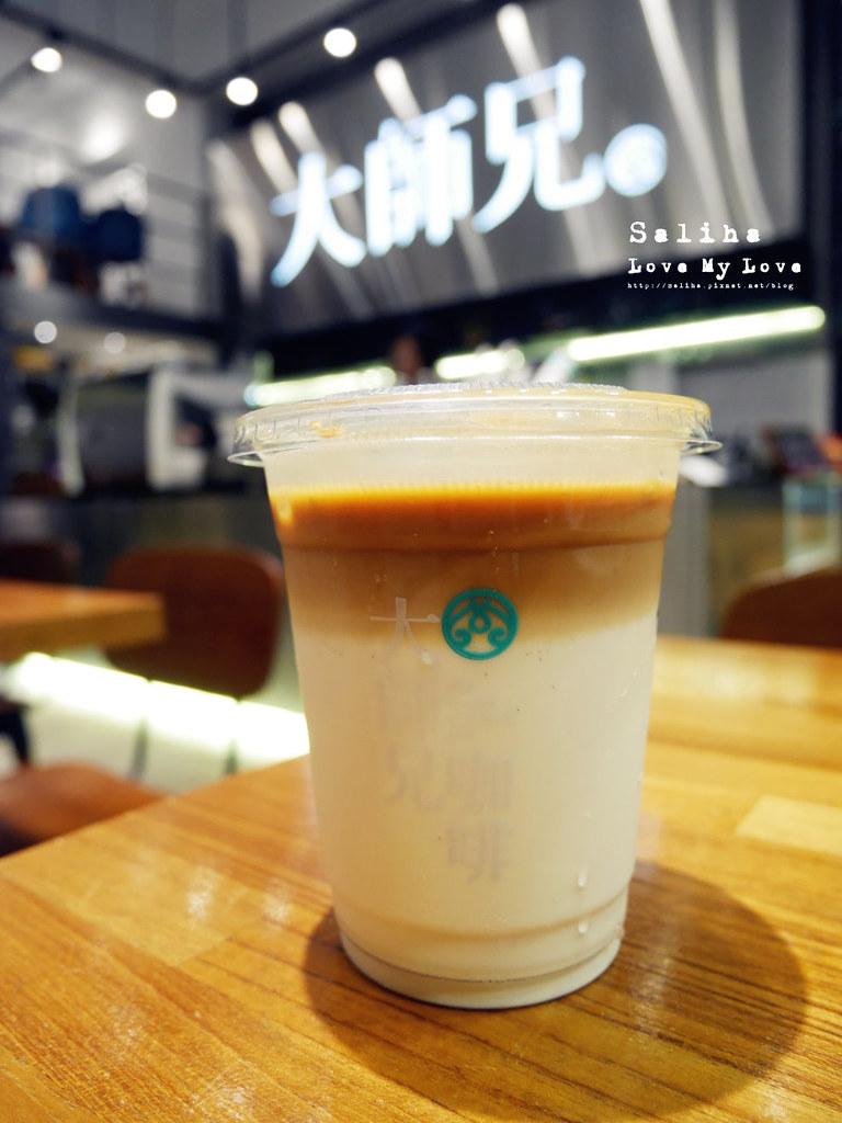 台北松山南京三民站附近餐廳推薦大師兄咖啡早午餐好吃麵 (24)
