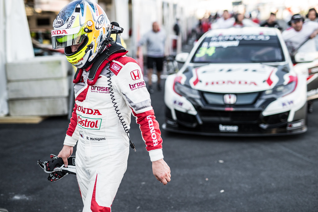 MICHIGAMI Ryo (jpn), Honda Civic team Honda racing team Jas, ambiance portrait during the 2017 FIA WTCC World Touring Car Race of Nurburgring, Germany from May 26 to 28 - Photo Antonin Vincent / DPPI